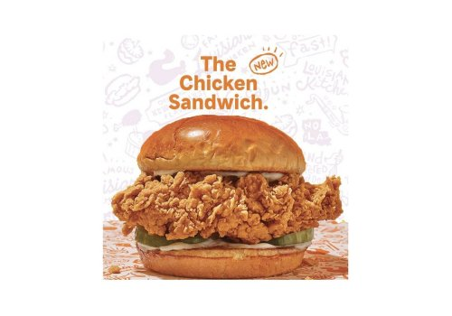 Popeyes Launches 'The New Chicken Sandwich' in the UAE.