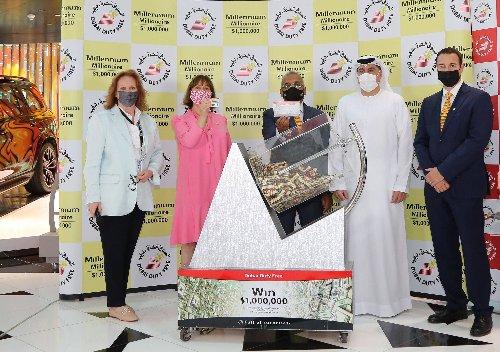 Dubai Airport staff wins $1 million in Dubai Duty Free promotion