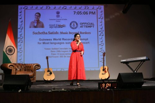 UAE: Teen sings in 120 languages for nearly 8 hours, breaks world record