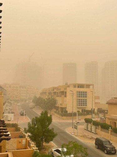 Video: Sandstorm engulfs Dubai on Friday as rain lashes parts of UAE