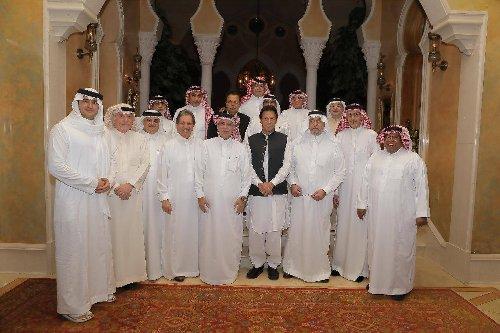 Photos: Imran Khan invites Saudi businessmen to invest in Pakistan