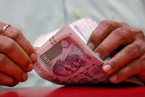 Indian rupee slips to 20.28 against UAE dirham