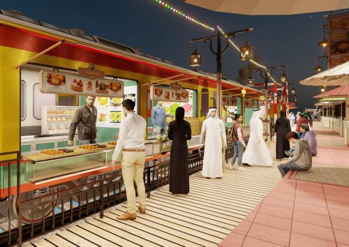Dubai's Global Village to feature Railway Market this year
