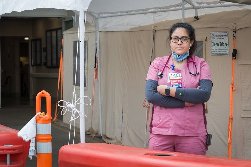 Listen: A Rookie Doctor Starts Her Career, Forged by the Pandemic
