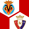 Spielschema | FC Villarreal - CA Osasuna 1:2 | 9. Spieltag | La Liga 2021/22