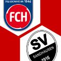 Spielschema | 1. FC Heidenheim - SV Sandhausen 2:1 | 32. Spieltag | 2. Bundesliga 2020/21