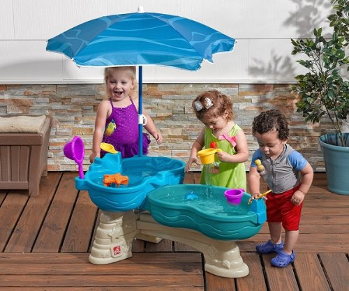 Step2 Spill and Splash Seaway Water Table | KidsDimension