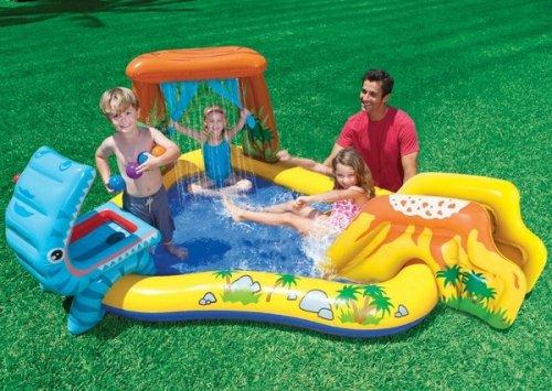 Intex Dinosaur Inflatable Play Center   KidsDimension