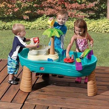 Step2 Splish Splash Seas Water Table with Umbrella | KidsDimension