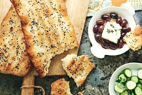 Hot Bread Kitchen's Nan-e Barbari (Persian Flatbread)