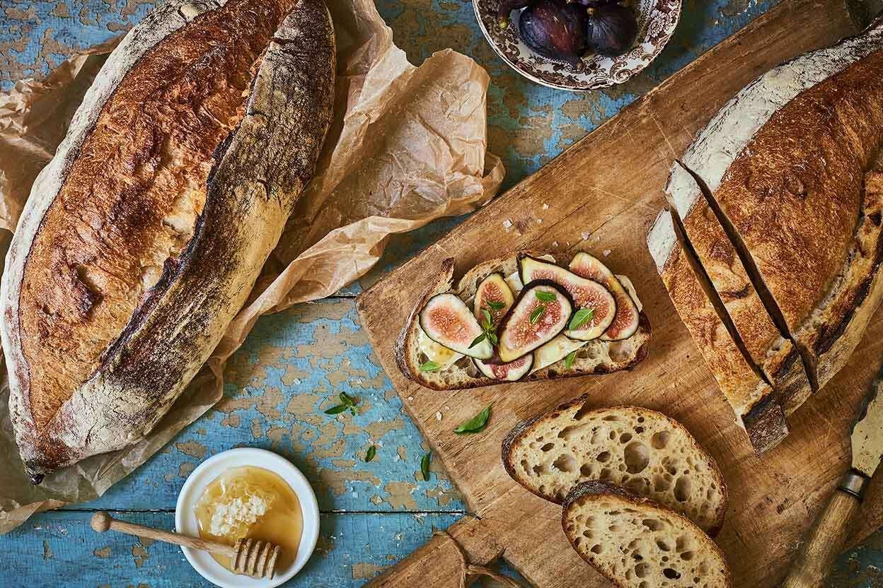 Naturally Leavened Sourdough Bread
