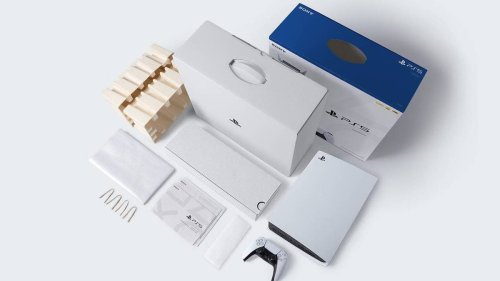 PlayStation's Recycled Boxes Are Very Cool