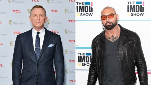 Daniel Craig ran away after breaking Dave Bautista's nose while filming Spectre