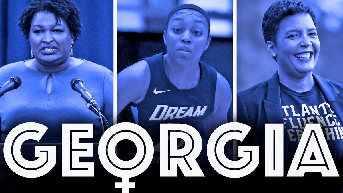 Renee Montgomery owning the Atlanta Dream is the latest example of Black women taking over Georgia