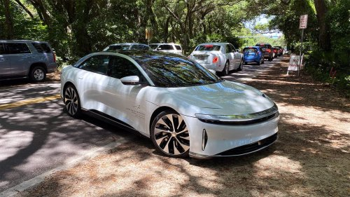 I Went For A Ride In A Lucid Air And I'm Still Thinking About It