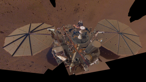 Martian Dust Could End NASA's InSight Mission in a Matter of Months