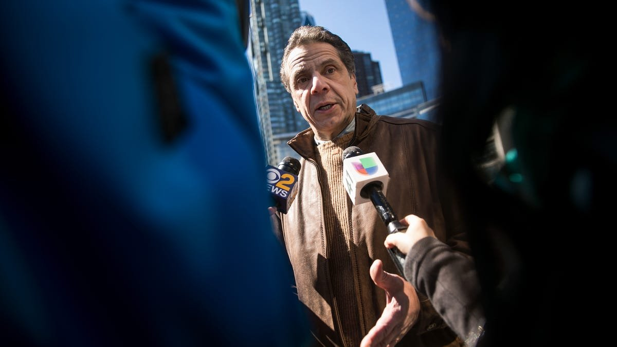 Cuomo Was Allegedly a Creep to Women Reporters, Too