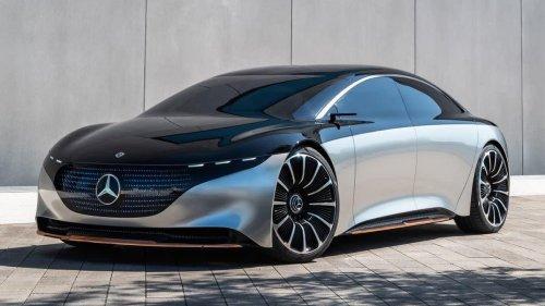 Electric 2022 Mercedes-Benz EQS Sedan Claims 478 Miles Range