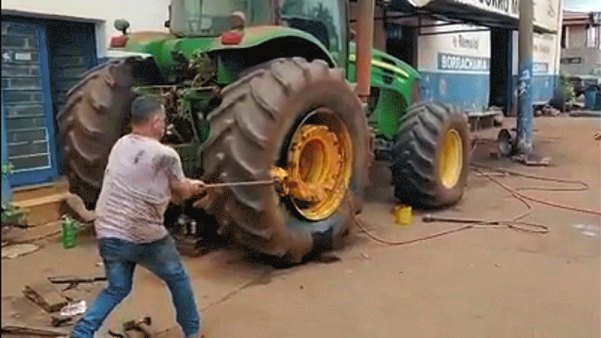 How NOT To Set A Bead On A Tire