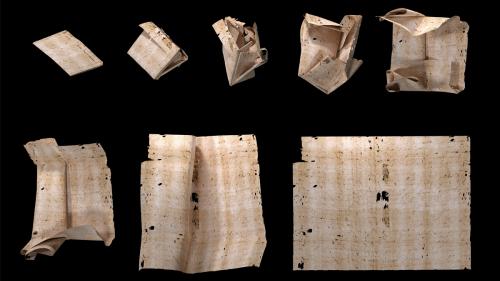 X-Rays Help Scientists Read 'Letterlocked' Renaissance Mail