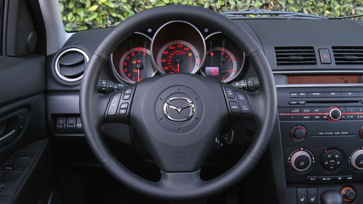 Mazda Is Recalling Over 260,000 Cars Because The Steering Wheel Logo Might Explode Into Your Face After Airbag Deployment