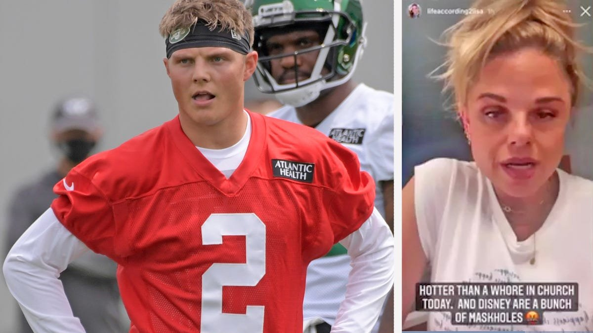 The biggest problem facing Jets rookie Zach Wilson right now is… his mom