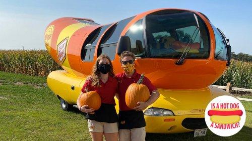 Hey Wienermobile drivers, is a hot dog a sandwich?