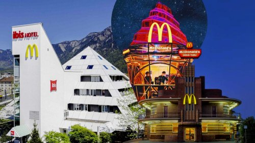 """Nonstandard McDonald's"" preserves unusual restaurant designs on Twitter"