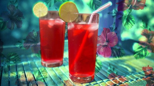 Toast these warm, sunny days with an ice-cold glass of sorrel