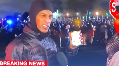 Hot Soup Can Protester Is Single, Prepared for Dinner, and Wants You to Donate to Daunte Wright's Memorial Fund