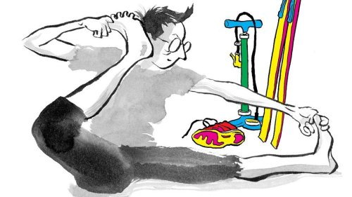 Alison Bechdel's The Secret to Superhuman Strength takes a big swing