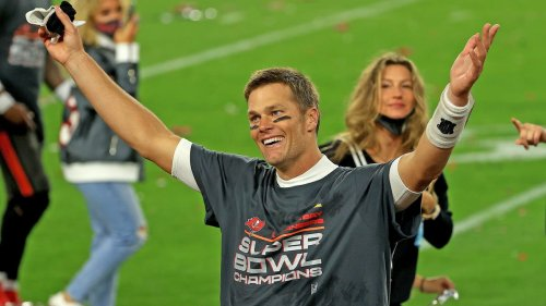 Tom Brady takes less money again? How is that possible? Oh now I remember