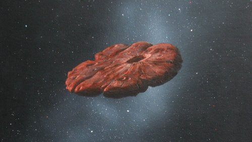 Interstellar Visitor 'Oumuamua Could Be the Shattered Remnant of a Pluto-like Object