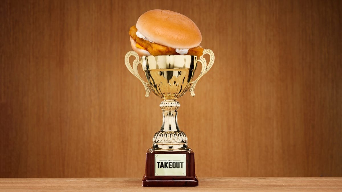 The Takeout's official Fast Food Fish Sandwich Power Ranking