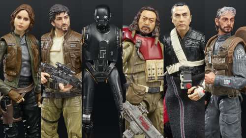 Star Wars' Rogue One Crew Is Finally Getting the Figures They Deserve