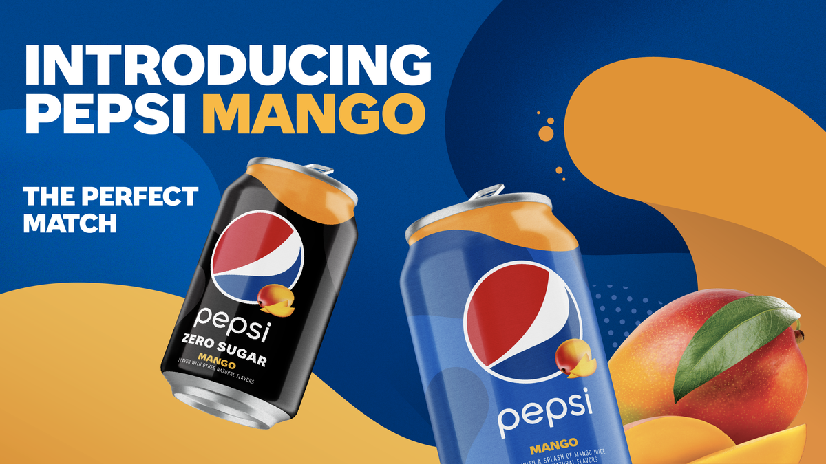 We Can't Protect You From Pepsi Mango