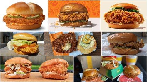 Our fast food chicken sandwich rankings, so far