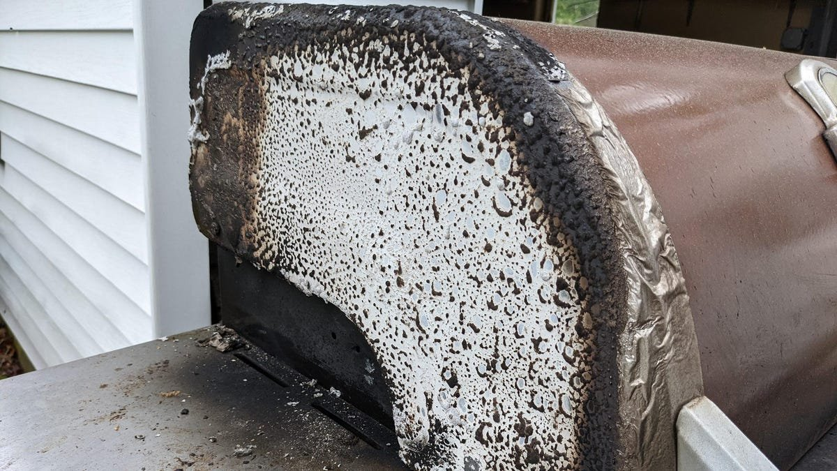 Please Clean Your Gas Grill - cover