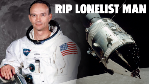 RIP Michael Collins, The Astronaut Who Briefly Became The Loneliest Human Ever