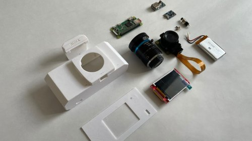 Go Full Retro-Photography Geek With This 3D-Printed, DIY Camera