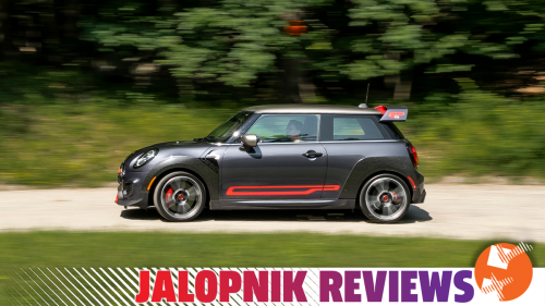 The 2021 Mini JCW GP Takes Itself Way Too Seriously Despite Looking Like A Hot Wheels Toy
