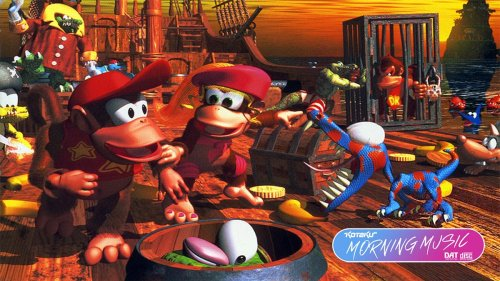 Donkey Kong Country 2's Soundtrack Is A Perfect Mix Of Hyped Up And Zoned Out