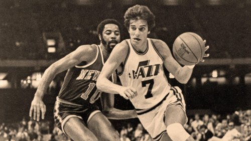 The story of the New Orleans Jazz and their move to Utah, where jazz didn't exist