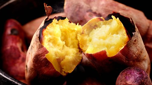 Don't Pierce Your Sweet Potatoes Before Roasting Them