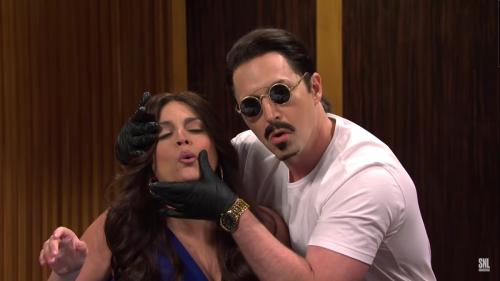 Salt Bae got the SNL treatment—but it was cut for time