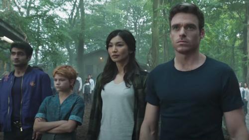 Eternals Footage Arrives With Captain Marvel & Black Panther Sequel Titles