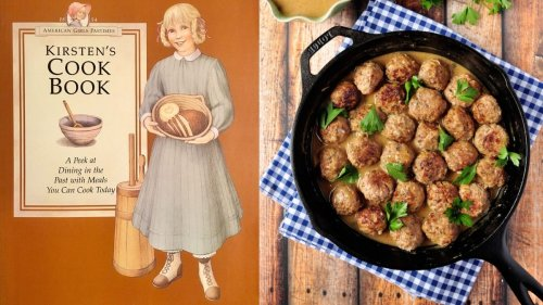Recipe: Swedish Meatballs, adapted from Kirsten the American Girl