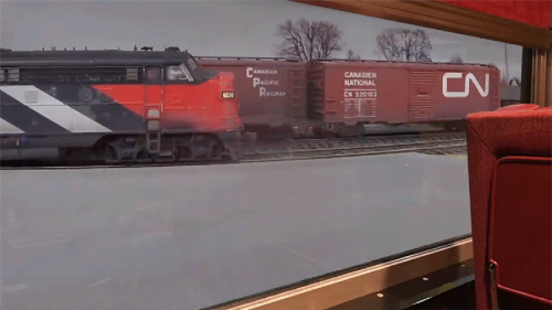 A Tiny Video Camera Lets This Train Enthusiast Ride Along on His Incredibly Detailed Model Railroad