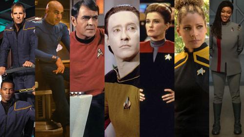 The Long History of Star Trek Uniform Fashions
