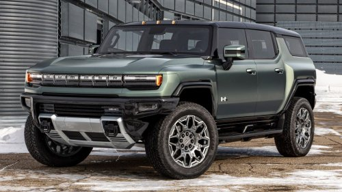 The 2024 GMC Hummer EV Is All About Tech